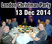 2014 London Christmas Party