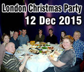 icon London Christmas Party 2015